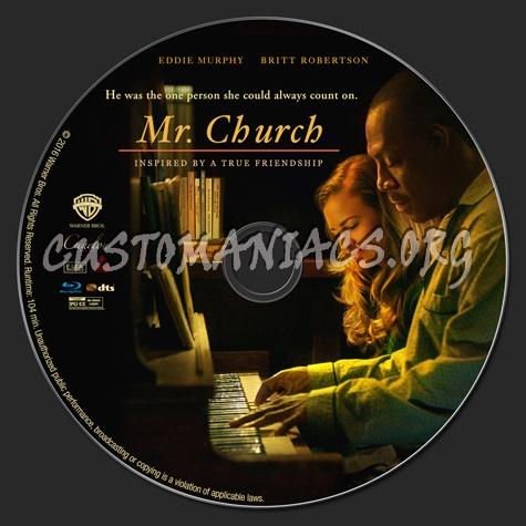 Mr. Church blu-ray label