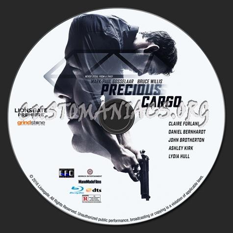 Precious Cargo blu-ray label
