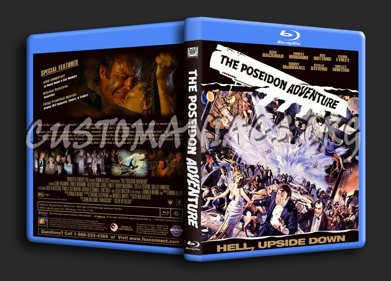 The Poseidon Adventure (1972) blu-ray cover