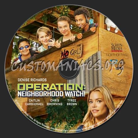 Operation Neighborhood Watch blu-ray label