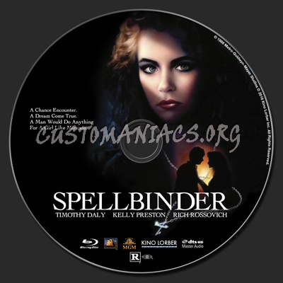 Spellbinder (1988) blu-ray label - DVD Covers & Labels by ...
