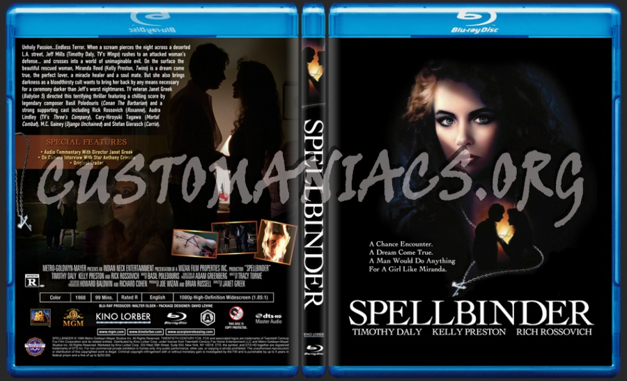 Spellbinder (1988) blu-ray cover - DVD Covers & Labels by ...