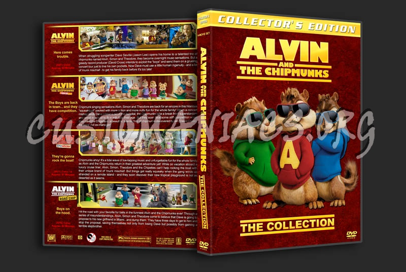 Alvin and the Chipmunks: The Collection dvd cover