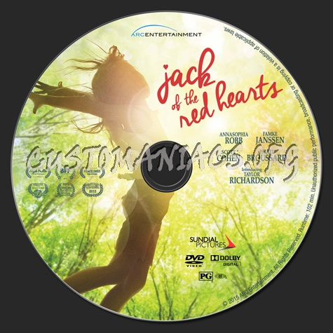 Jack of the Red Hearts dvd label