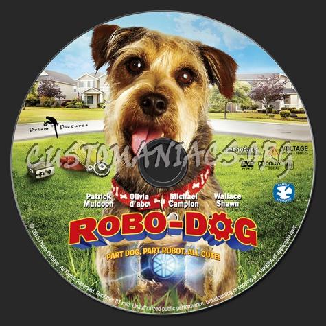 Robo-Dog dvd label