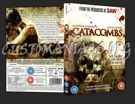 Catacombs dvd cover