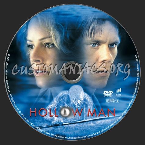 Hollow Man dvd label
