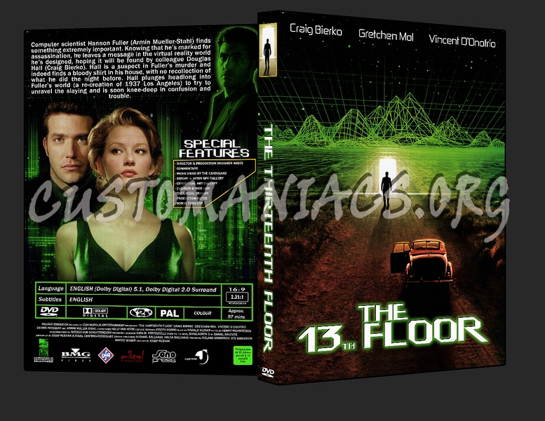 13th floor the dvd cover dvd covers labels by for 13th floor dvd