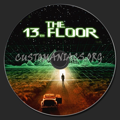 13th floor the dvd label dvd covers labels by for 13th floor dvd