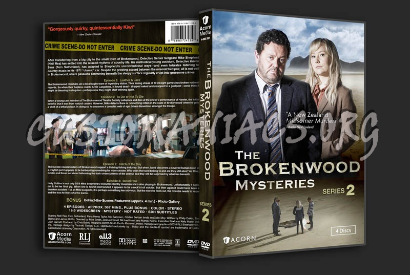 The Brokenwood Mysteries - Series 2 dvd cover