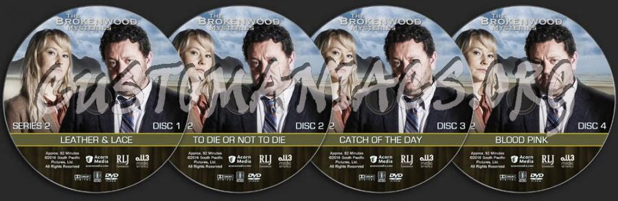 The Brokenwood Mysteries - Series 2 dvd label