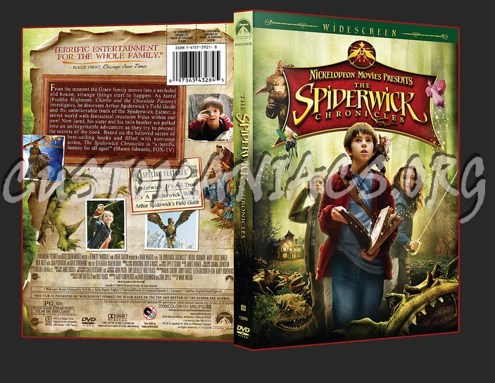 Spiderwick Chronicles dvd cover