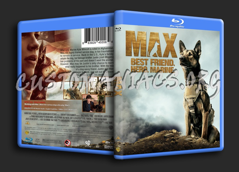 Max blu-ray cover
