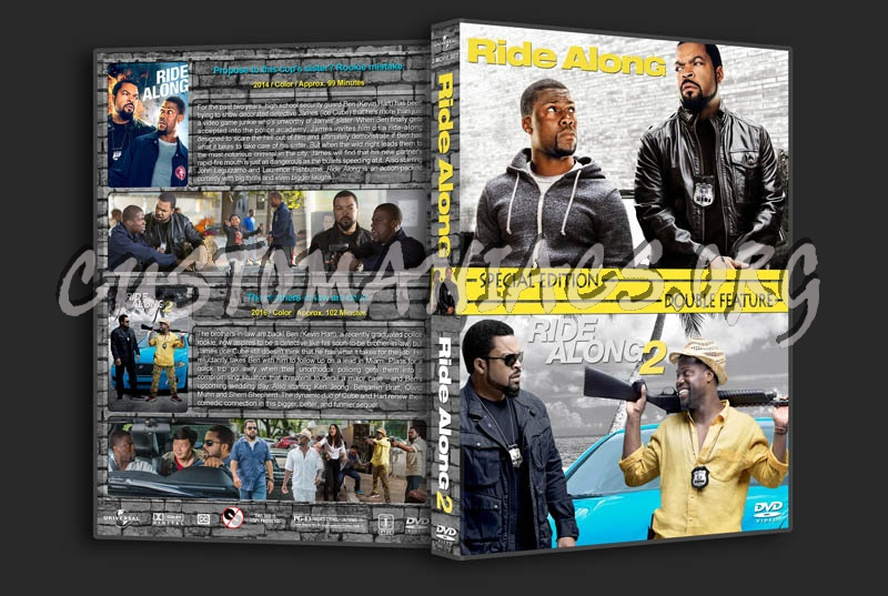 Ride Along / Ride Along 2 Double Feature dvd cover