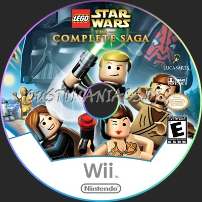 Lego Star Wars the Complete Saga dvd label - DVD Covers & Labels by ...