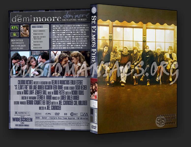 St Elmo's Fire dvd cover
