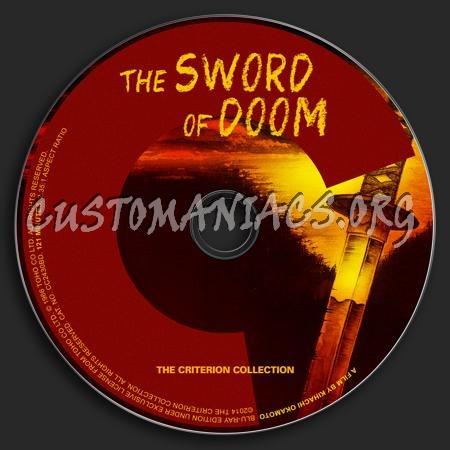 280 - The Sword of Doom dvd label