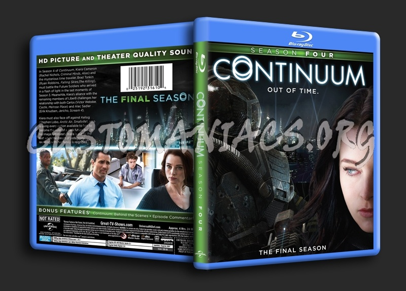Continuum Season 4 blu-ray cover