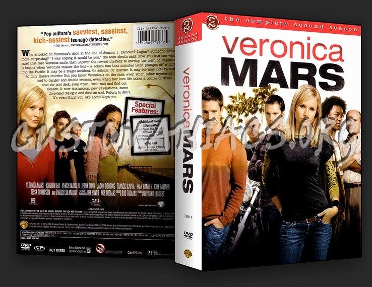 Veronica Mars Season 2 dvd cover