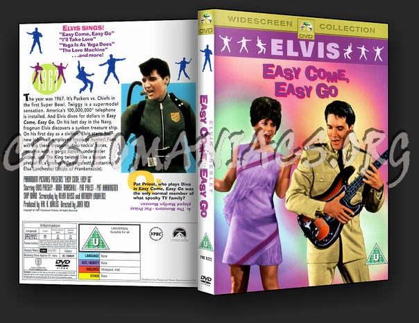 Elvis: Easy Come, Easy Go dvd cover