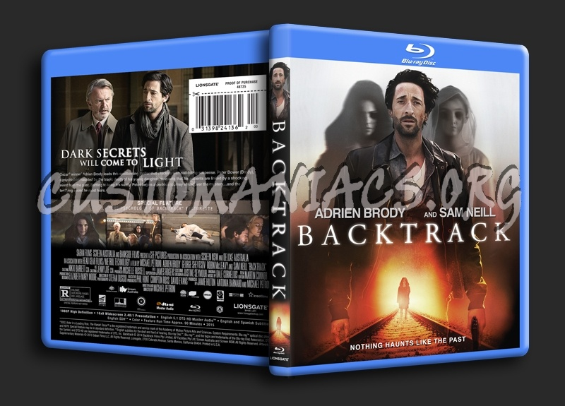 Backtrack blu-ray cover
