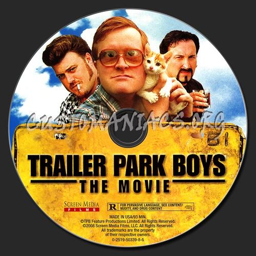Trailer Park Boys: The Movie dvd label