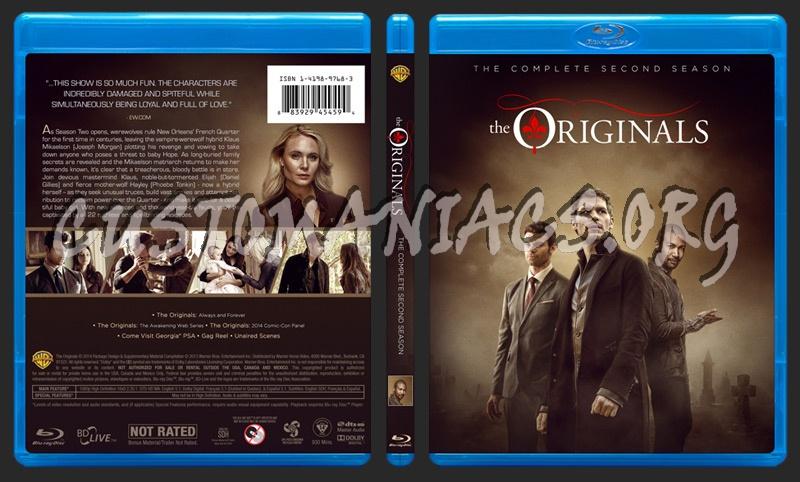 The Originals - Season 2 blu-ray cover