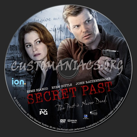 secret past akaa christmas mystery dvd label - A Christmas Mystery