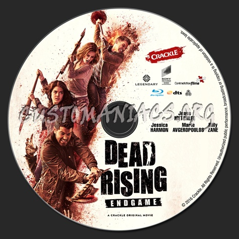 Dead Rising Endgame Blu Ray Label Dvd Covers Labels By