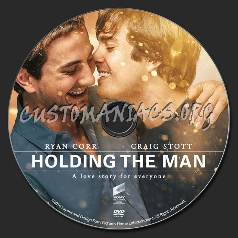 Holding The Man dvd label