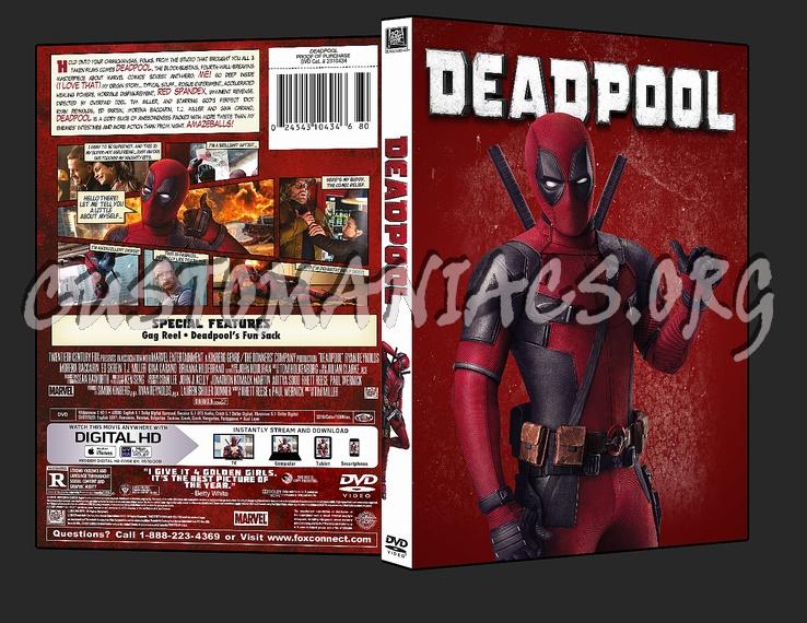 Deadpool dvd cover