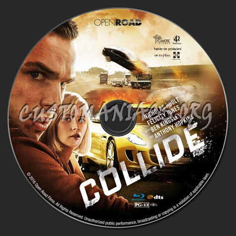 Collide (aka: Autobahn) blu-ray label