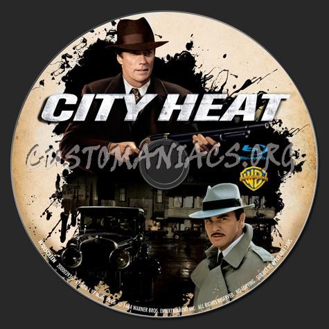 City Heat blu-ray label