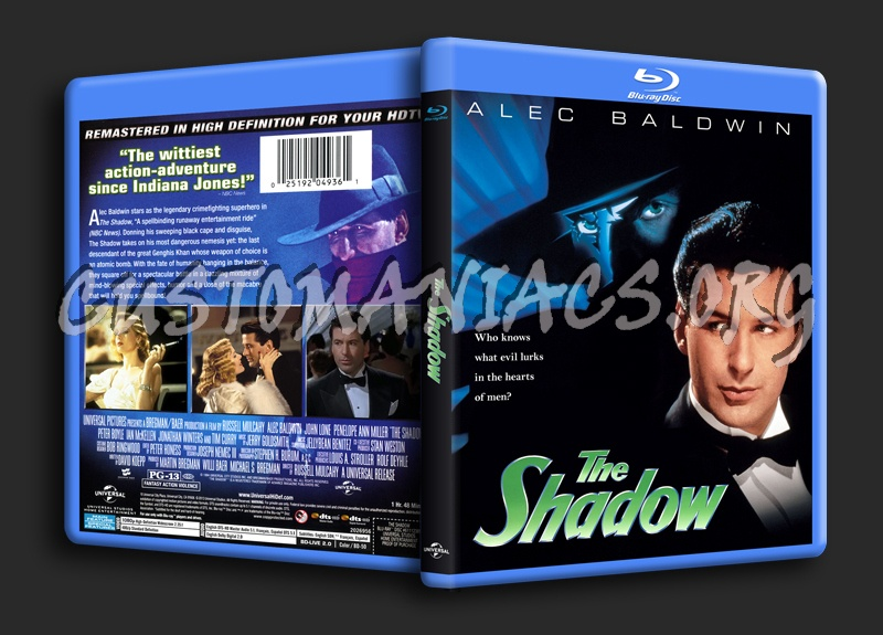 The Shadow blu-ray cover