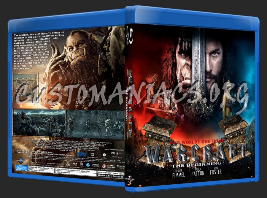 Warcraft blu-ray cover