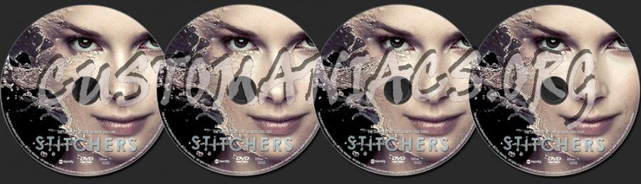 Stitchers Season 2 dvd label