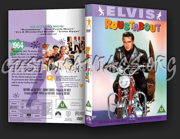 Elvis: Roustabout dvd cover