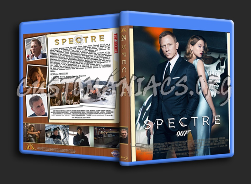 Spectre (2015) blu-ray cover