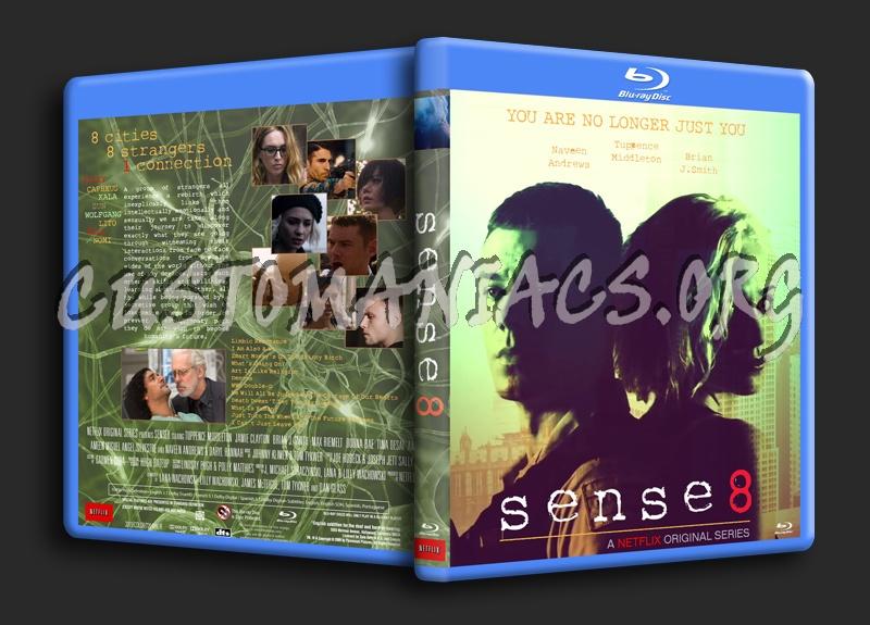 Sense8 Season 1 blu-ray cover