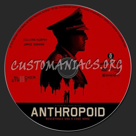 Anthropoid dvd label