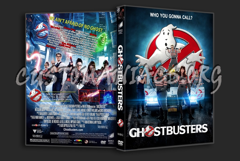 ghostbusters 2016 dvd cover dvd covers amp labels by