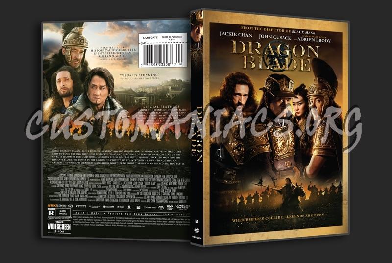 Dragon Blade dvd cover