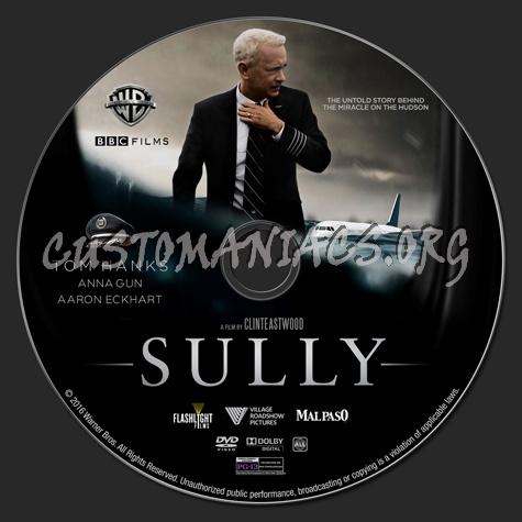 Sully dvd label