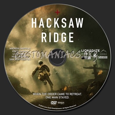 Hacksaw Ridge Watch 2016 Bluray Infofiles