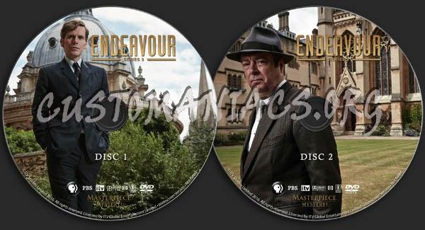 Endeavour - Series 3 dvd label