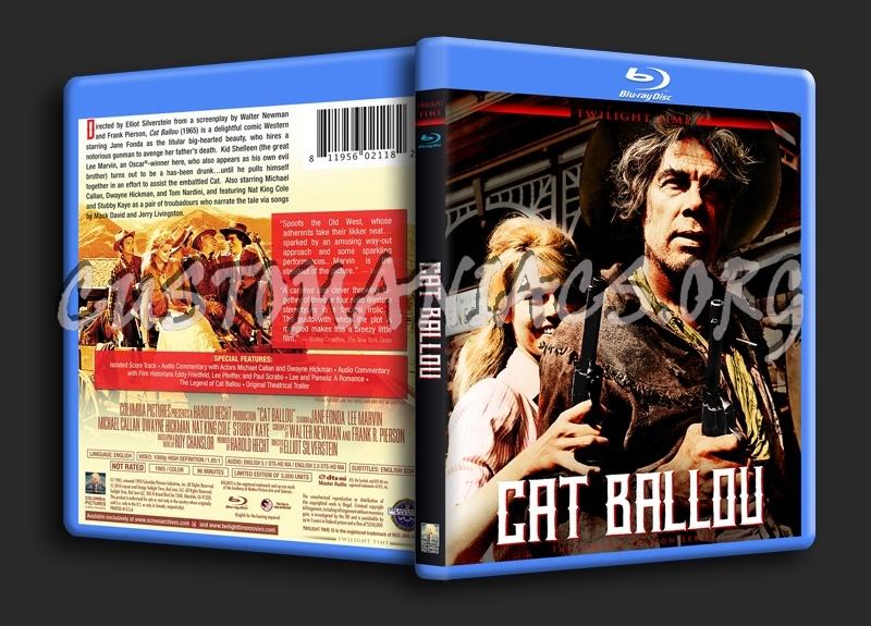 Cat Ballou blu-ray cover