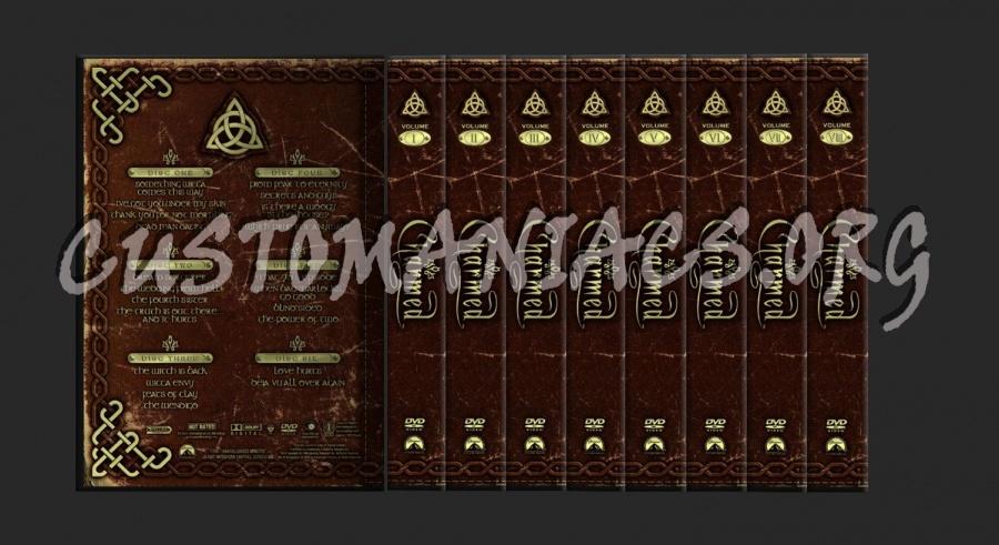 Charmed Season 1-6 dvd cover