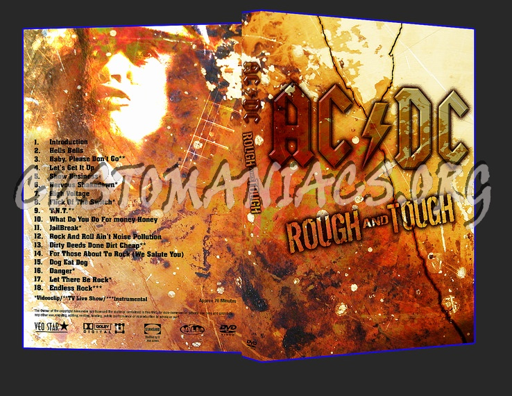 AC/DC - Rough & Tough dvd cover