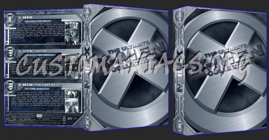X-Men 1 - 3 dvd cover
