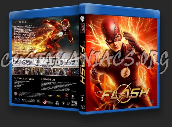 The Flash Season 2 blu-ray cover